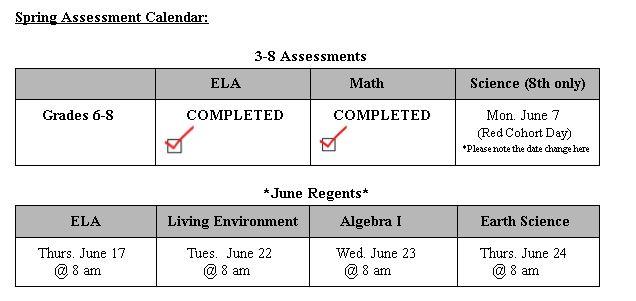 Spring Assessment
